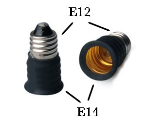 E14 to E12 Adapter