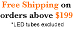 Free shipping on LED Lights orders obove $199