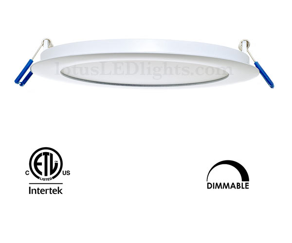 Recessed LED Lights Super Thin 6 inch