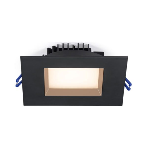 Square Regressed LED lights 4 inch