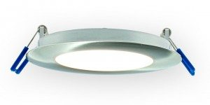 Super Thin Recessed LED Lighting Fixture Black