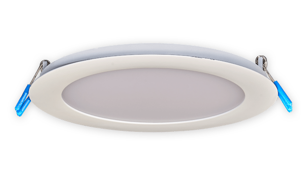 français 6 round led fixtures recessed lightinglampes à del