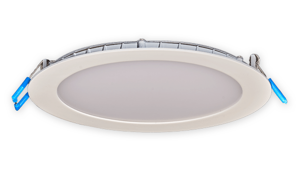 Franais 6 round led fixtures recessed lightinglampes del economy line 6 inch round super thin recessed led lighting fixture aloadofball Images