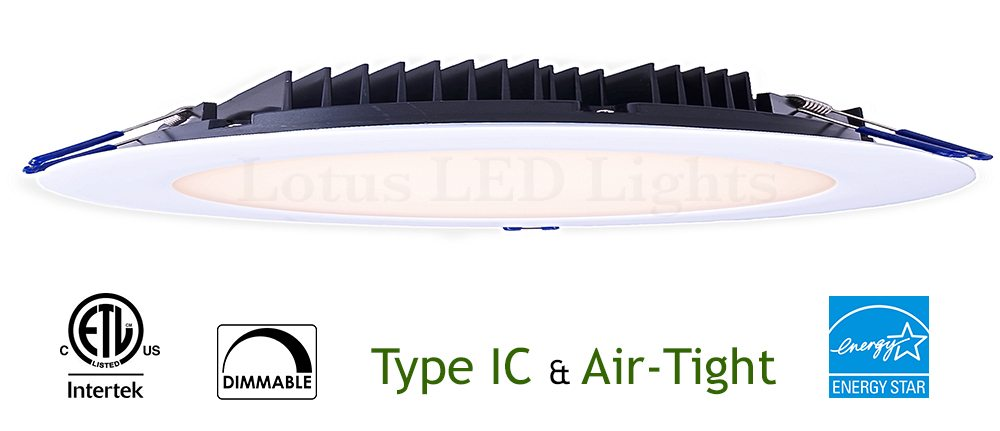 33W Slim 8 inch Recessed LED Lighting model LY82RCD