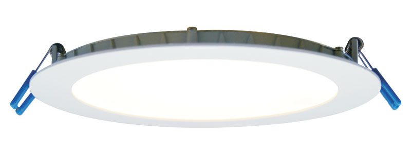 Economy Recessed LED Lighting Fixture 14W 6 inch Super Thin
