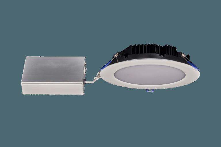 8 Round Slim Recessed LED Fixture 33W