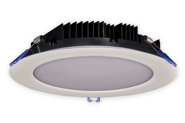 8 Inch Round Slim Recessed LED Fixture