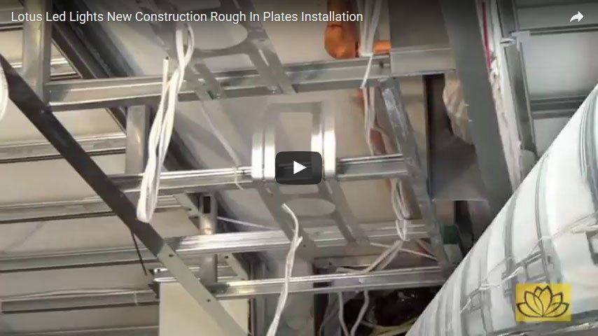 Lotus Led Recessed Lighting Installation Videos