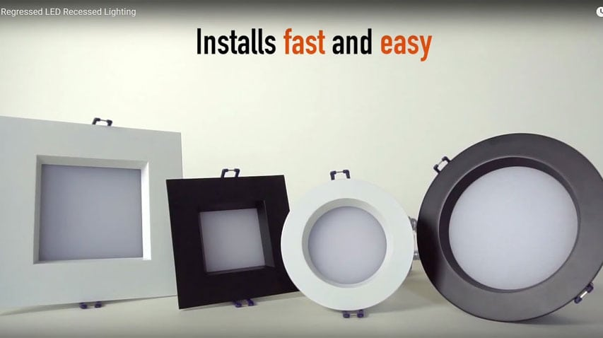 click here to watch this video and discover our regressed led recessed fixture