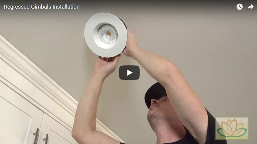 Lotus Led Recessed Lighting Installation Videos