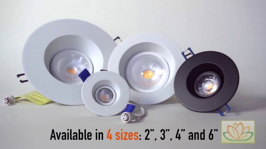 click here to watch this video and discover our Regressed Gimbal Recessed LED Lights