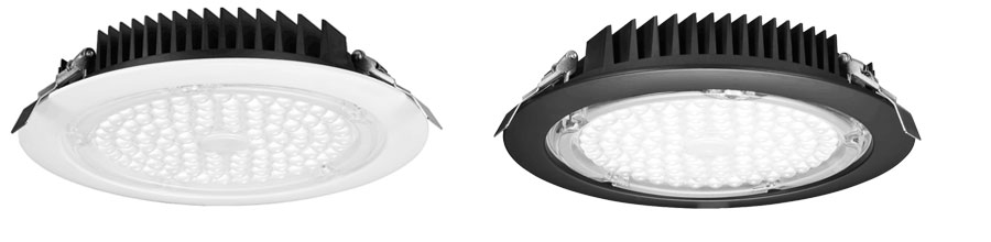 8 inch commercial led recessed lighting trim options
