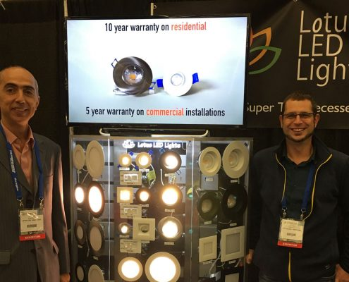 Seattle WA LED Specifiers Summit Exhibitor Lotus LED Lights