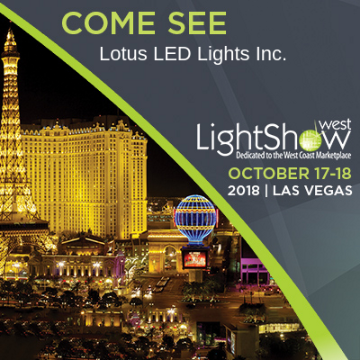 Come See Us in Vegas: Lightshow West, October 17-18, Exhibitor - Booth 419