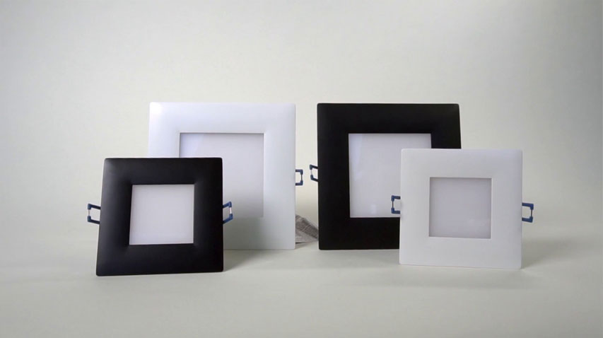 click here to watch this video and discover our Square Super Thin Recessed LED Lights