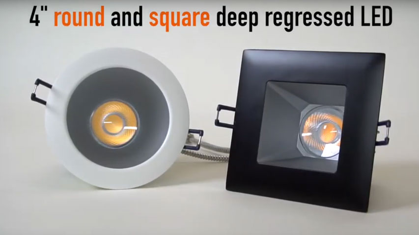 click here to watch this video and discover our Deep Regressed LED Lights
