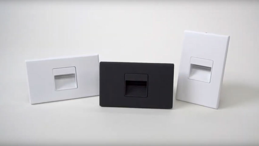 click here to watch this video and discover our Mini Die Cast LED Step Lights