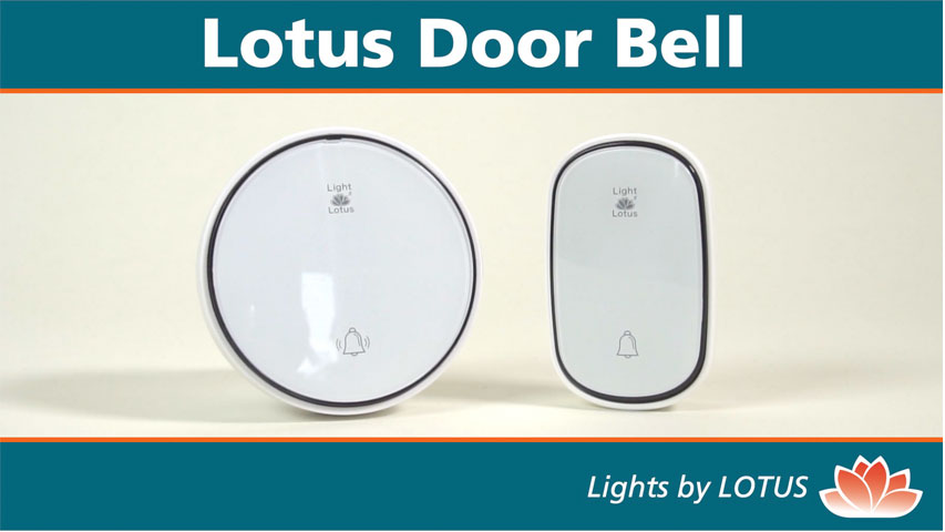 click here to watch this video and discover our Wireless Door Bell