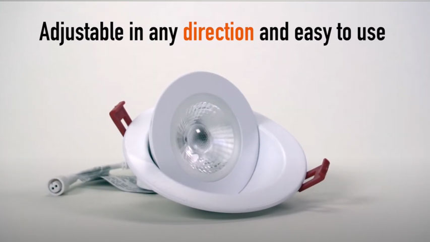 click here to watch this video and discover our 4 inches Round Floating Gimbal Recessed