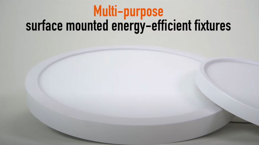 click here to watch this video and discover our Surface Mount Edge Lit Disks 7 & 12 inches