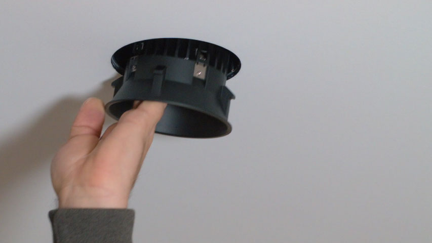 click here to watch Installation of Installation of 4 inch Trimless Regressed LED Lights